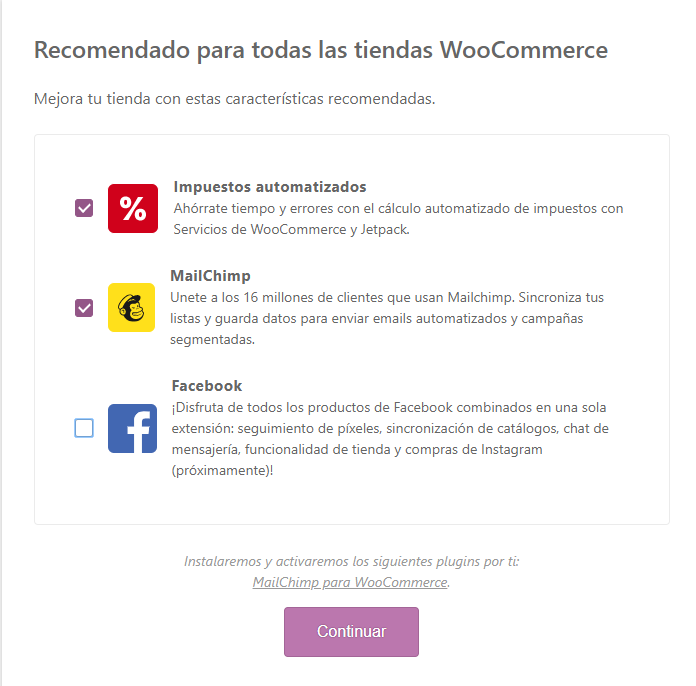 Configurar Woocommerce en español