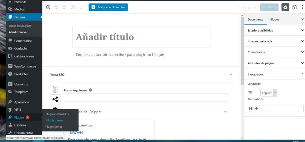 Configurar BackWPup en español