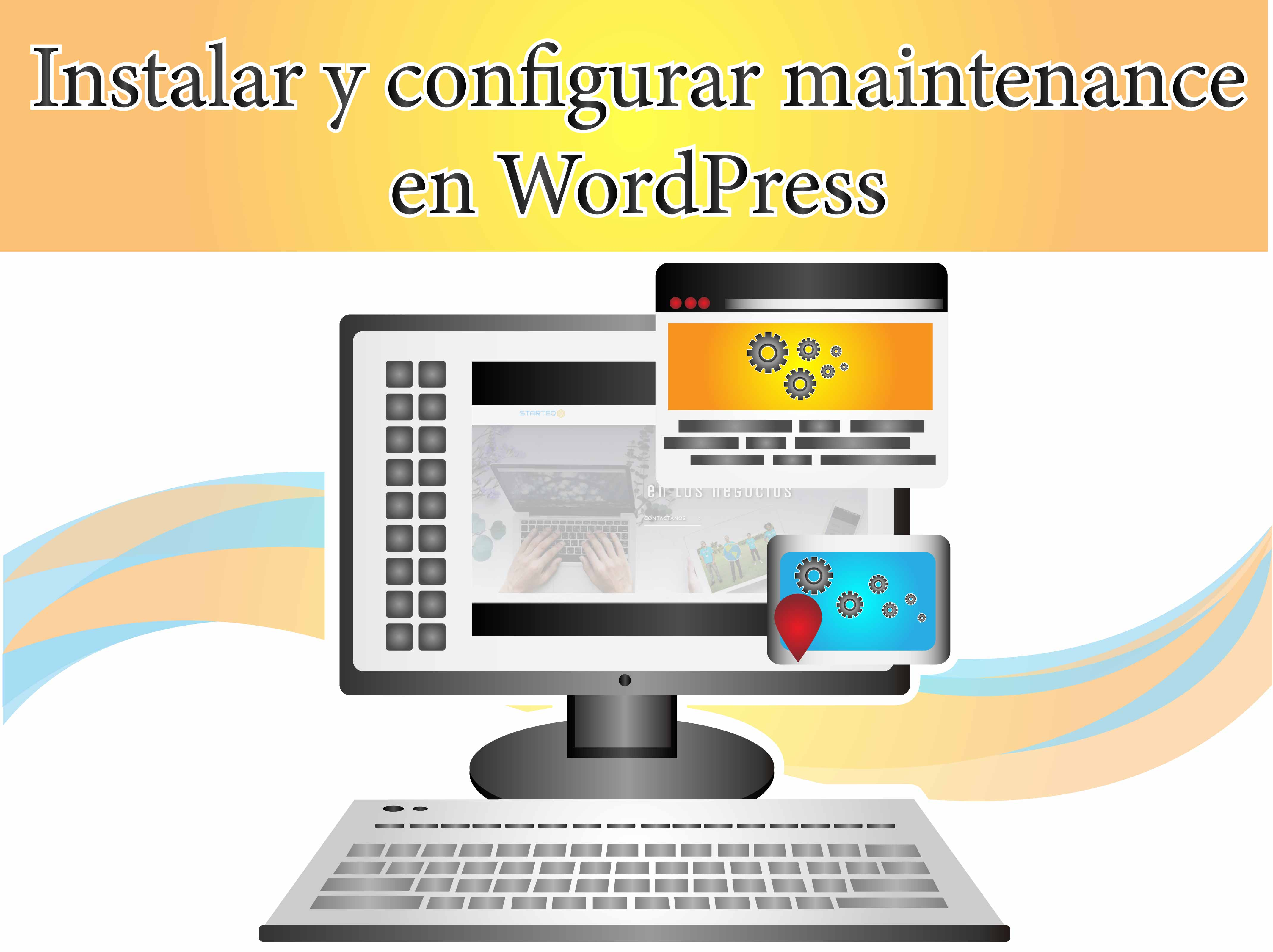 Instalar y configurar maintenance en WordPress