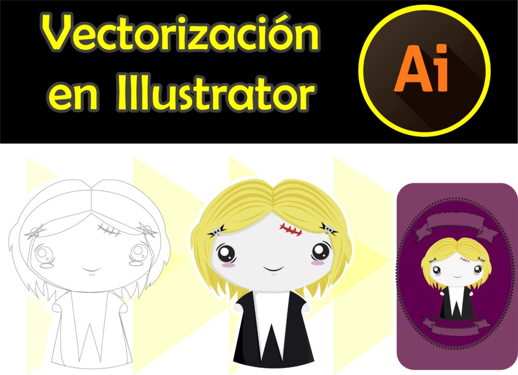 Vectorización en Illustrator