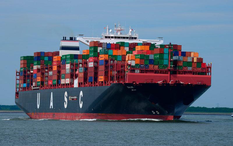 ejemplo del transportarte marítimo de Medios de Transporte para el Comercio Exterior