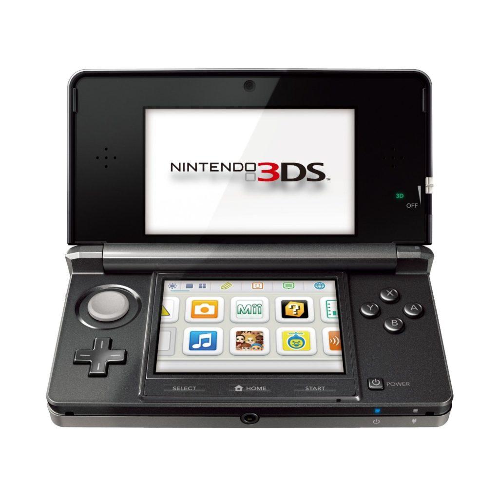 Esta imagen es una representacion del nintendo 3DS