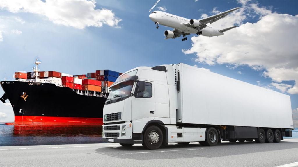 Estos trasporten son los que se utiliza en el mercado internacional para las mercancías