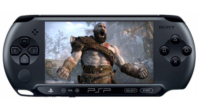 Esta imagen representa al playstation portable o PSP