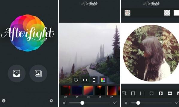Afterlight, una de las apps para editar fotos