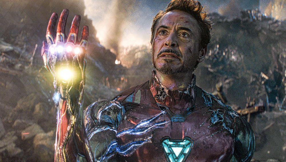 Publicidad de Avengers Endgame haciendo promoción a la historia de Ironman