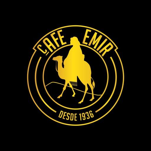 Logotipo de café Emir, una de las cafeterias famosas en mexico