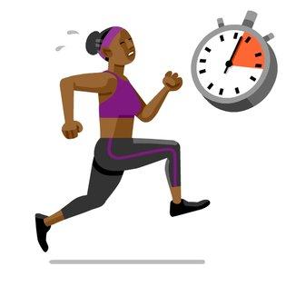 El tiempo de entrenamiento y el porque es importante hacer ejercicio.