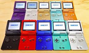 consolas de videjuegos portatiles de la nintendo gameboy advace sp