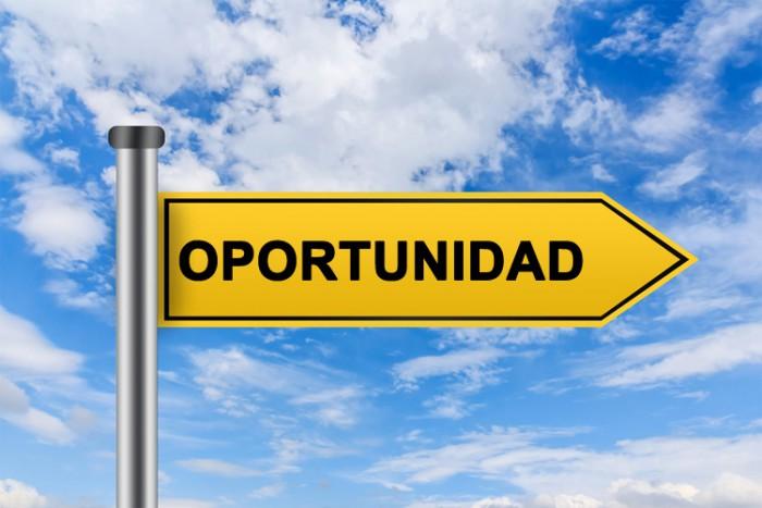 ve las oportunidades y síguelas