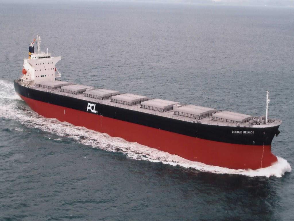 Buque  granelero - medios de trasporte del comercio internacional