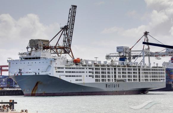buque de ganado - medios de transporte del comercio internacional