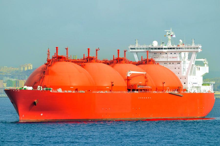 Buque Gasero - medios de transporte del comercio internacional.