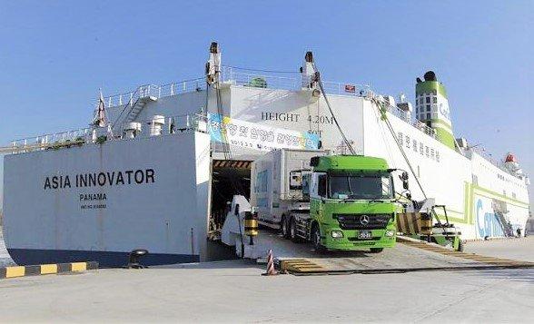 Buque Roll On – Roll Off - medios de transporte del comercio internacional