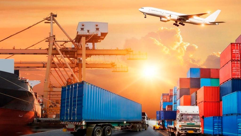medios de trasporte del comercio internacional