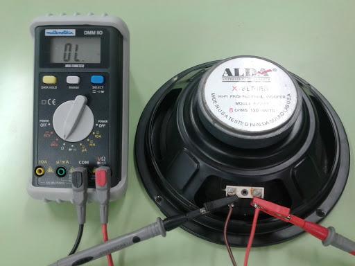 Elementos de los circuitos eléctricos mediciones de un cliente