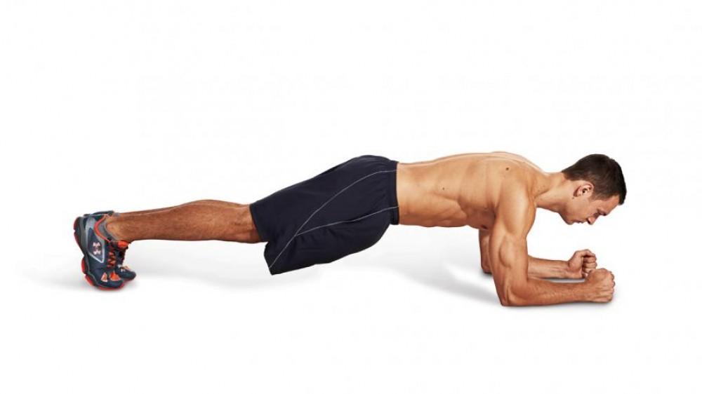 Como hacer ejercicio desde casa, planchas