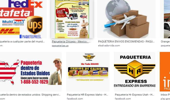 Beneficios de vender por Internet servicios de paqueteria que sean lo mas rápidas al cliente.